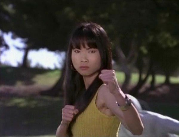 Trini Kwan, the Yellow Power Ranger, provided a rare subversion in a field full of blatant stereotypes, though was not above some of the Mystical Asian clichés that sadly are still around.